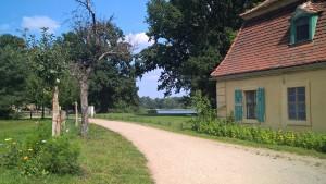 Zufahrt Fassanenschlösschen