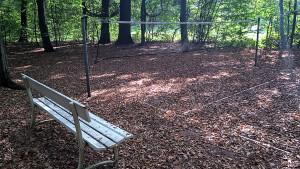 Campingplatzgelände - Badmintonfeld
