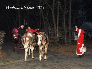 Weihnachtsfeier 2015 Waldteichfreunde Moritzburg e.V