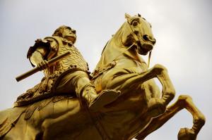 Dresden - goldener Reiter