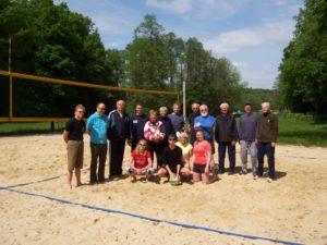 Jahresrückblick - Volleyball am Waldteich bei Dresden