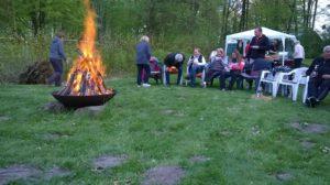 Jahresrückblick - Walpurgisfeuer am niederen Waldteich